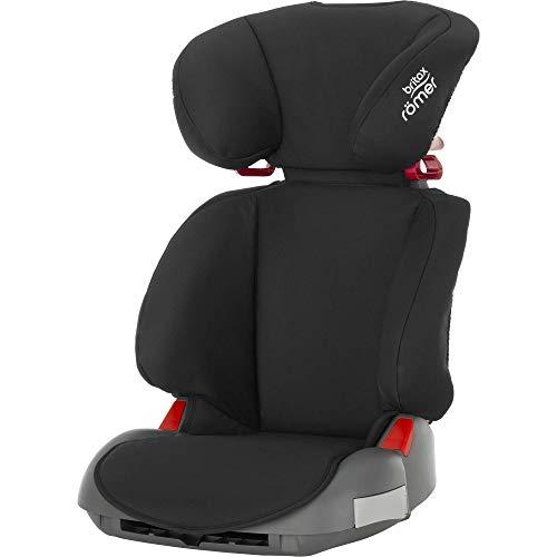 Britax Römer Kindersitz 3,5 - 12 Jahre | 15 - 36 kg | ADVENTURE Autositz Gruppe 2/3 | Cosmos Black