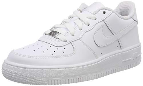 Nike Air Force 1 (Gs) Basketballschuhe, Weiß, 40 EU