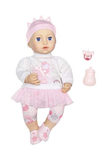 Zapf Creation 702901 Baby Annabell Sweet Dreams Mia, weiche Puppe mit Schlafaugen 43 cm, Online...