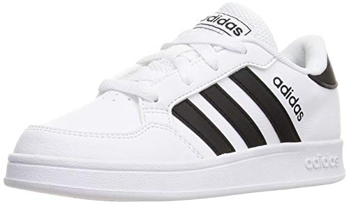adidas Breaknet K Tennisschuh, FTWR White Core Black FTWR White, 38 EU