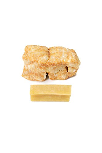Wildfang® Kaustab aus Hartkäse für Ihren Vierbeiner I Hundespielzeug Käse Kauknochen - Kauspielzeug -...