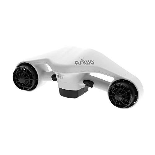 Asiwo Unterwasserscooter Tauchscooter mit Action Kamera Halterung, Seascooter mit Doppelmotor für...