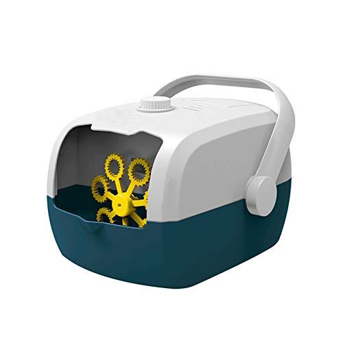 Zilosconcy Seifenblasenmaschine Kinder Bubble Machine Spielzeug (mit Bubble Liquid) Blasenblasen...