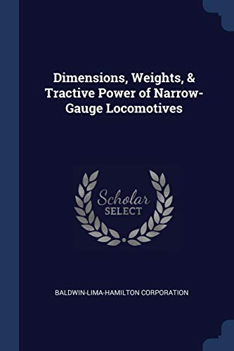 DIMENSIONS WEIGHTS & TRACTIVE