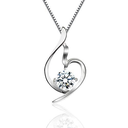 Herz Halsketten für Frauen Schmuck 45CM Kettenlänge Geschenke für...