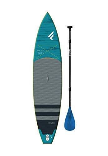 Fanatic Ray Air Premium 11';6'aufblasbares SUP Stand Up Paddle Boarding Paket - Board, Tasche, Pumpe &...