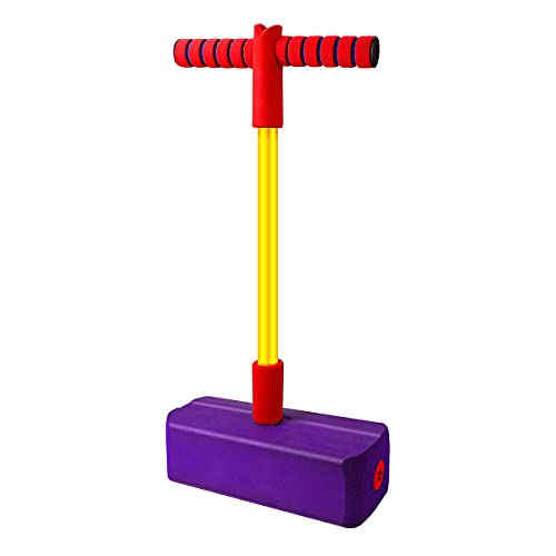 Babyhelen Schaum Pogo Jumper, Bungee Jumper - weicher Pogo Stick Bouncer für Kinder (Lila)