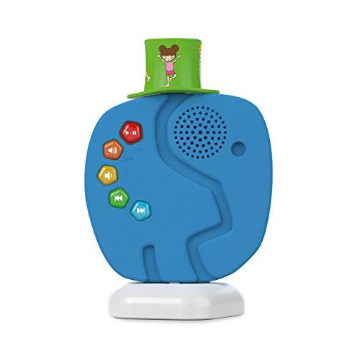 TechniSat TECHNIFANT - Audioplayer und Nachtlicht für Kinder im Elefanten-Look (mit Audio-Inhalten...