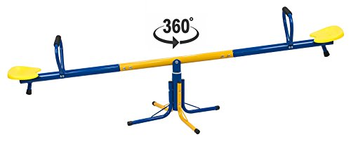 Solex Karussell-Wippe Toni 2in1 Kinderwippe und 360° Karusellwippe für draußen - Kinderwippe...