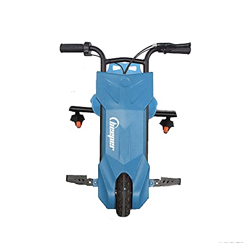BEEPER – Drift Trike für Kinder, 12 V, 100 W, Akku Blei 7 Ah, Farbe – Blau, RDT100-B7