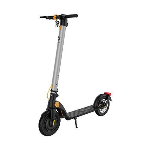 TREKSTOR e.Gear EG40 E-Scooter mit Straßenzulassung (eKFV), 350 W Motor, austauschbare 230,4 Wh...