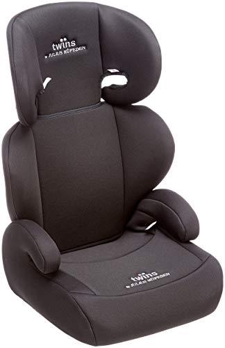Twins Kindersitz mit verstellbarer Kopfstütze und Rückenlehne, Gruppe 2/3 (15-36 kg), ab 3,5 bis 12...
