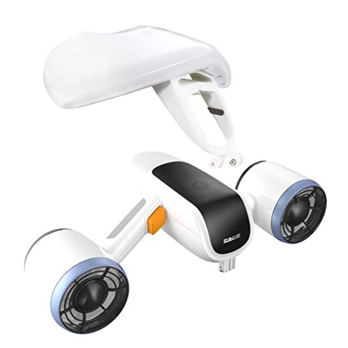 WINDEK Sublue WhiteShark Mix Unterwasser Scooter Tauchscooter mit Action Kamera Halterung, Doppelmotor,...