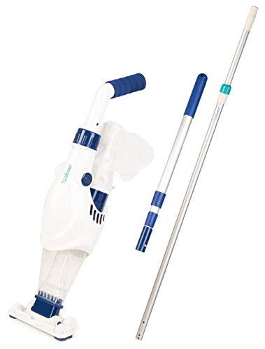 time4wellness Wels I oder Wels II Poolsauger optional mit Komfort oder Komfort Plus Teleskopstange (Wels...