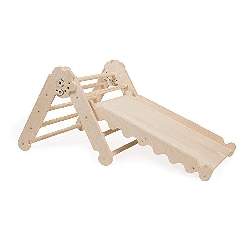 MAMOI Triangle Gym Dreieck für Kinder Modernes | Klettergerüst Indoor Kinder minimalistisches Design |...