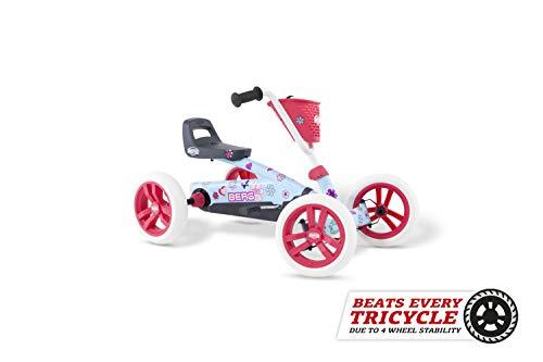 BERG Gokart Buzzy Bloom | Kinderfahrzeug, Tretauto, Sicherheid und Stabilität, Kinderspielzeug geeignet...