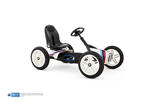 BERG Gokart Buddy BMW Street Racer | Kinderfahrzeug, Tretauto mit Optimale Sicherheid, Luftreifen und...