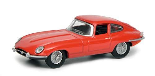 Schuco 452017500 Jaguar E-Type Coupé, Modellauto, 1:64, rot