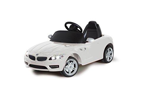 Jamara 404750 - Ride-on BMW Z4 weiß 27Mhz 6V - Kinderauto, leistungsstarker Motor und Akku, bis zu 90...