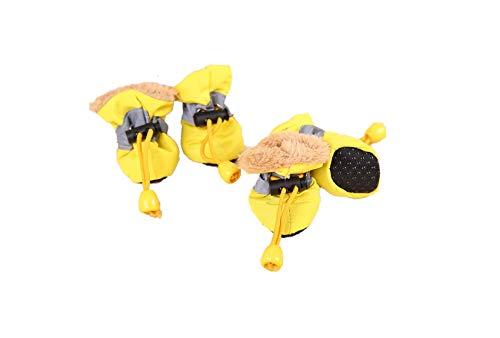 Ducomi Anti-Rutsch-Schuhe für Hunde, Schuhe für Hunde, Regen, Pfotenabdeckung, atmungsaktiv,...