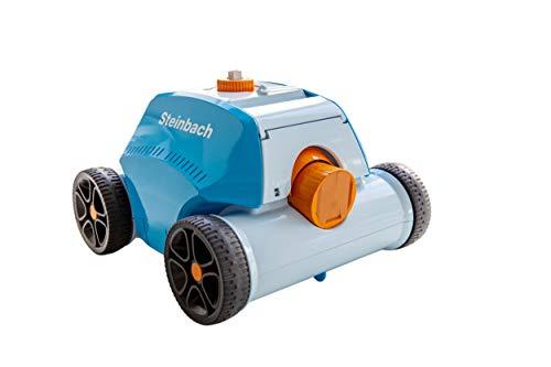 Steinbach Poolrunner Battery+, für Pools bis 80 m² Grundfläche, vollautomatisch, kabelllos,...