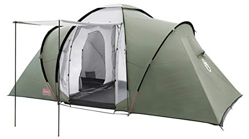 Coleman Zelt Ridgeline 4 Plus, 4 Mann Zelt, 4 Personen Vis-A-Vis Tunnelzelt, Campingzelt, Kuppelzelt mit...