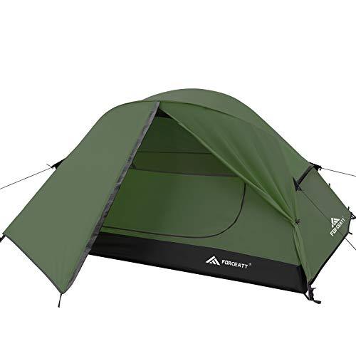 Forceatt Zelt für 2 Personen in 4 Jahreszeiten | Ultraleicht für Camping, Rucksackreisen, Wandern und...
