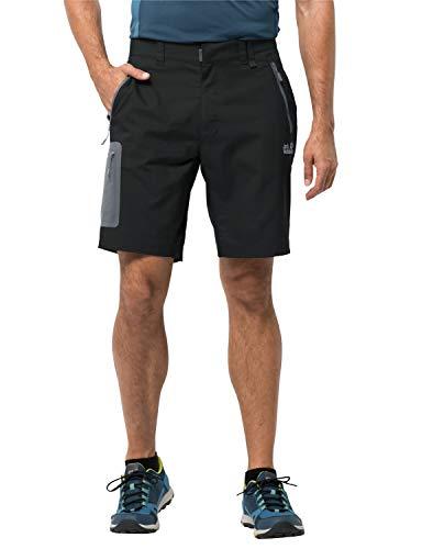 Jack Wolfskin Kinder Active Track Shorts, Black, 50