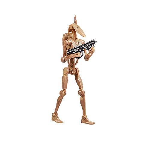 Star Wars The Vintage Collection Battle Droid Spielzeug, 9,5 cm, Star Wars: The Phantom Menace Figur,...