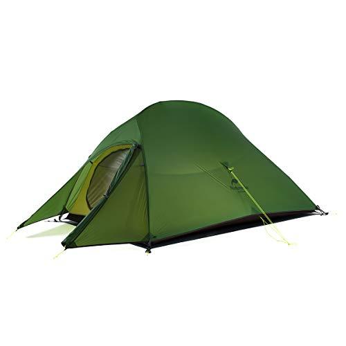 Naturehike Cloud-up Ultraleichte 2 Personen doppelten Zelt 3-4 Saison Camping Zelt (20D Waldgrün...