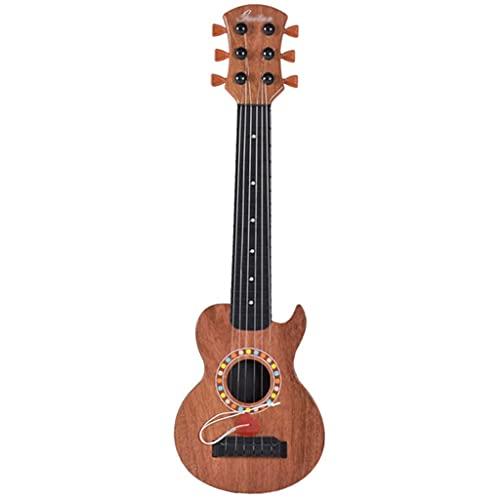 XYF Retro-Akustikgitarre 18 Zoll Tragbare Kleine Gitarre Kinder-Ukulele Kann Früh Gespielt Werden, Um...