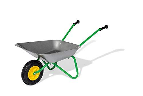 Rolly Toys Metallschubkarre Kinderschubkarre (für Kinder ab 2,5 Jahre, Metallschüssel, belastbar bis 25...