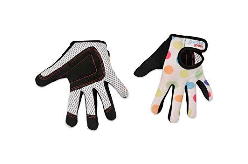 KIDDIMOTO Vollfingerhandschuhe für Kinder, für Fahrrad, Laufrad, Roller und Skateboard (Handschuhe für...
