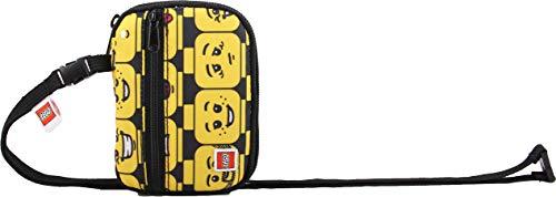 LEGO Bags Geldbörse mit Fahrausweis Fach, Kinderportemonnaie, Geldbeutel mit LEGO minifigures Heads...