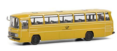 Schuco 452649300 Mercedes Benz O302 Deutsche Post, Modellauto, Bus, Maßstab 1:87, gelb