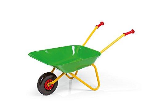 Rolly Toys Metallschubkarre (ab 2,5 Jahren, Kinderschubkarre, Metallschüssel, Kunststoffgriffe, max....