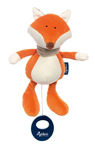 sigikid, Mädchen und Jungen, Spieluhr, Fuchs, sigikid blue, Orange, 42326