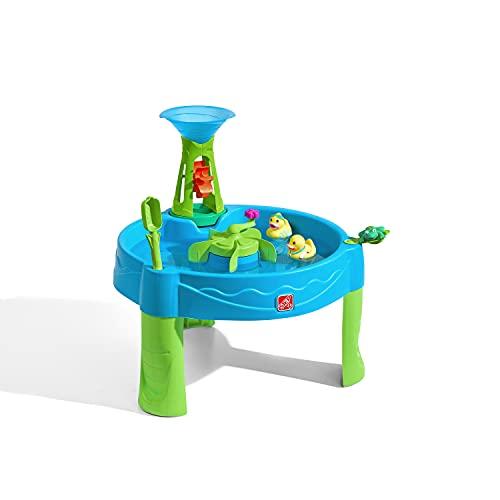 Step2 Duck Dive Wasserspieltisch | Wassertisch mit 6-teiligem Zubehörset | Garten Wasser Spieltisch für...