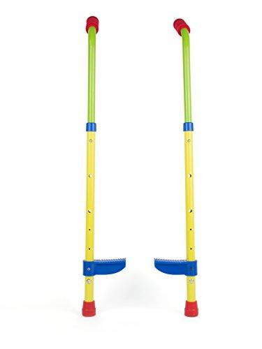 Small Foot 10866 Kinderstelzen mit sicheren Fußstützen aus stabilem Material, höhenverstellbar bis ca....