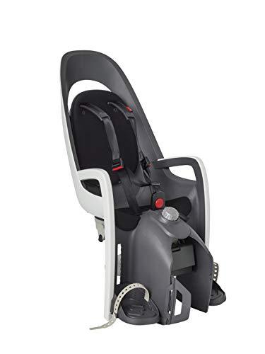 HAMAX Caress Fahrradsitz Kind hinten schwarz Gepäckträgermontage Kindersitz