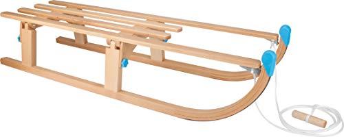 Nijdam Holzschlitten faltbar Schlitten, Buche