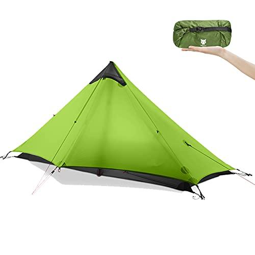 Night Cat Rucksack-Zelt Ultraleichtes wasserdichtes professionelles Wanderzelt für 1 Person Mann Camping...
