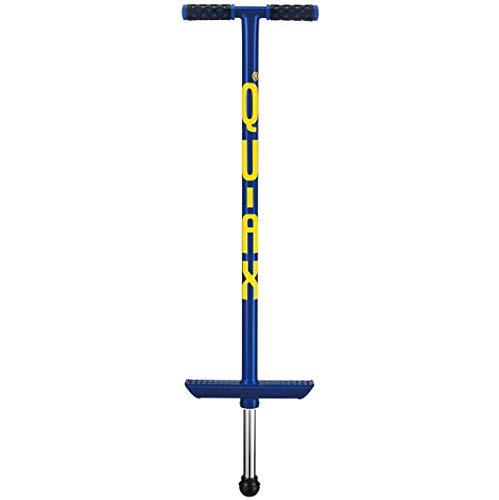 QU-AX Pogostick Blau, Fuer 30 Bis 50 kg Koerpergewicht