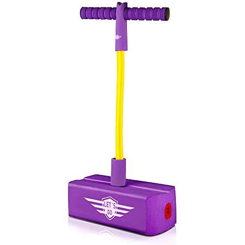SOKY Stelzen Kinder Pogostick ab 3-8 Jahre, Jungen Geburtstagsgeschenk Spielzeug 3-8 Jahre Enkelin...