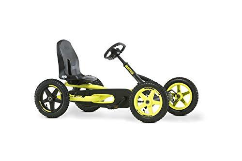 BERG Gokart Buddy Cross | Kinderfahrzeug, Tretauto mit Optimale Sicherheid, Luftreifen und Freilauf,...