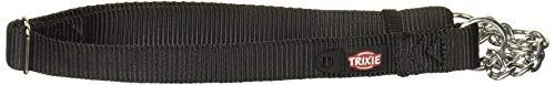 Trixie 202901 Premium Zug-Stopp-Halsband, L–XL: 45–70 cm/25 mm, schwarz