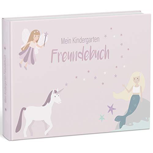 """mintkind® """"Meine Freunde"""" Kindergarten-Freundebuch für Mädchen – Freundschaftsbuch für..."""