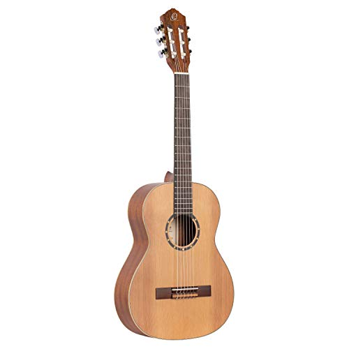 Ortega Guitars R122-3/4 Konzertgitarre in 3/4 Größe natur im seidenmatten Finish mit hochwertigem...