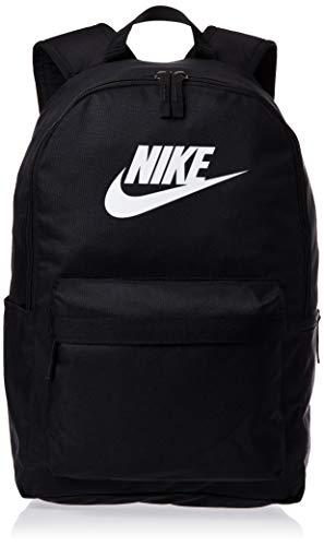 Nike Heritage Sac a dos 2.0, Unisex-Erwachsene , Schwarz (Black/Black/White), One Size