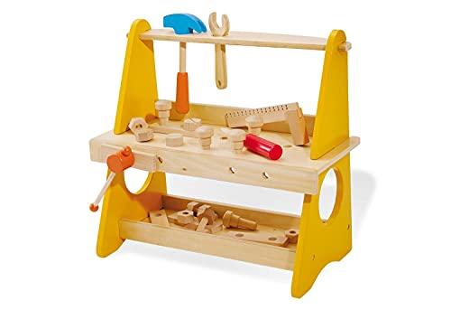 Pinolino Tischwerkbank aus Holz